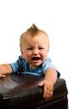 Geïsoleerdec het Portret van de Jongen van de baby Stock Foto