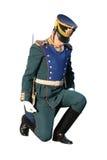 Geïsoleerdec militair Stock Foto