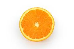 Geïsoleerdec sinaasappelen Stock Afbeelding