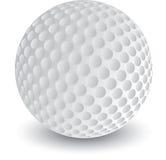 Geïsoleerded Golfbal Stock Illustratie