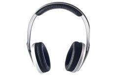 Geïsoleerded hoofdtelefoons Royalty-vrije Stock Afbeeldingen