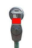 Geïsoleerded parkeermeter Royalty-vrije Stock Afbeeldingen