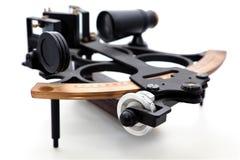 Geïsoleerded sextant Royalty-vrije Stock Foto