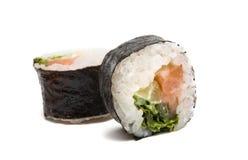 Geïsoleerded sushi Royalty-vrije Stock Afbeeldingen