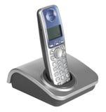 Geïsoleerded telefoon Stock Foto