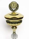 Geïsoleerded trofee of medaille Royalty-vrije Stock Afbeeldingen