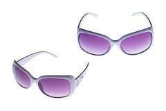 Geïsoleerded zonnebril royalty-vrije stock foto's