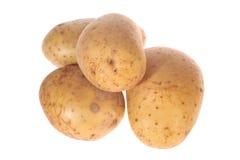 Geïsoleerdee aardappels Stock Foto's