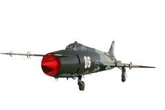 Geïsoleerdee bommenwerper van de vechter su-17 Stock Foto