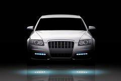 Geïsoleerdee de auto van de luxe Stock Afbeelding