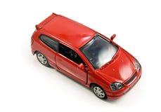 Geïsoleerdee de auto van het stuk speelgoed Stock Afbeelding