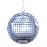 Geïsoleerdee de bal van de disco stock illustratie