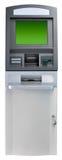 Geïsoleerdee de machine van ATM Stock Afbeeldingen