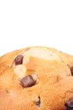 Geïsoleerdee de Muffin van de Chocoladeschilfer Royalty-vrije Stock Foto's