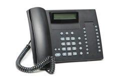 Geïsoleerdee de telefoon van het bureau Stock Foto
