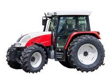 Geïsoleerdee de tractor van het landbouwbedrijf Royalty-vrije Stock Foto