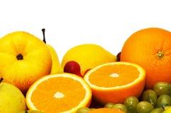 Geïsoleerdee de vruchten van Variious Royalty-vrije Stock Afbeeldingen