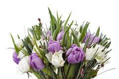 Geïsoleerdee het boeket van bloemen Stock Foto's