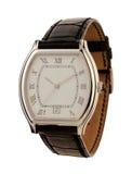 Geïsoleerdee het horloge van mensen Royalty-vrije Stock Foto