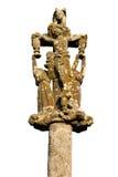 Geïsoleerdee het kruis van Calvary Royalty-vrije Stock Fotografie