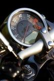 Geïsoleerdee motorfietssnelheidsmeter royalty-vrije stock foto