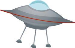 Geïsoleerdee ruimteschip schuin Vector Royalty-vrije Stock Foto's