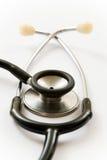 Geïsoleerdee stethoscoop Stock Foto's