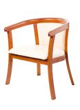 Geïsoleerdee stoel, Royalty-vrije Stock Foto's