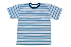 Geïsoleerdee t-shirt Stock Fotografie