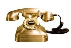 Geïsoleerdee telefoon Stock Afbeeldingen