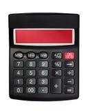 Geïsoleerdee Zwarte Calculator Stock Afbeeldingen