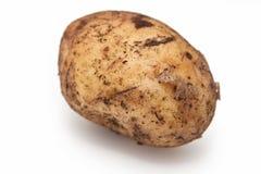 GeïsoleerdeG aardappel Stock Foto's