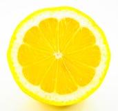 Geïsoleerdeg citroen Royalty-vrije Stock Afbeeldingen