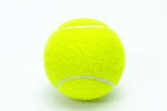 Geïsoleerdeg de Bal van het tennis Royalty-vrije Stock Fotografie