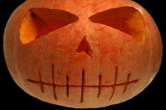Geïsoleerdeg de pompoen van Halloween Stock Fotografie