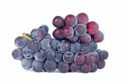 Geïsoleerdeg druiven Stock Foto's