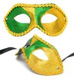 Geïsoleerdeg het masker van de maskerade stock afbeelding