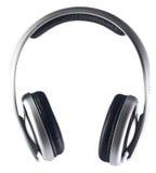 Geïsoleerdeg hoofdtelefoons Royalty-vrije Stock Afbeelding