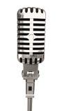 Geïsoleerdeg microfoon Stock Foto's