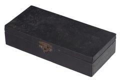 Geïsoleerdeg oude doos Royalty-vrije Stock Foto