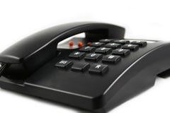 Geïsoleerdeg telefoon stock afbeelding