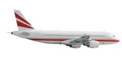 Geïsoleerdeg Vliegtuigen stock afbeelding