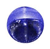 Geïsoleerdeh de bal van de disco Stock Afbeeldingen