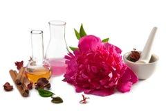 Geïsoleerdei Aromatherapy royalty-vrije stock foto's