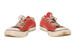 Geïsoleerdei de schoenen van de sport Royalty-vrije Stock Afbeeldingen