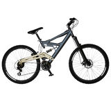 Geïsoleerdei fiets Royalty-vrije Stock Afbeelding