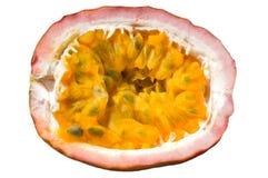 Geïsoleerdei het fruit van de hartstocht Stock Afbeelding