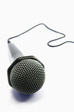 Geïsoleerdei microfoon Stock Afbeelding