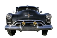 Geïsoleerdei Oldsmobile - royalty-vrije stock fotografie