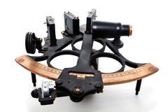 Geïsoleerdei sextant Royalty-vrije Stock Foto's